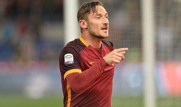 Тотти повторил рекорд Мальдини