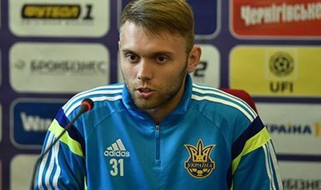 Караваев заменит Цыганкова в сборной Украины