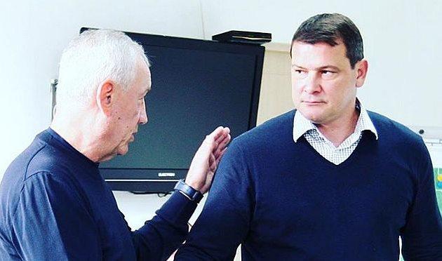 Петр Дыминский и Сергей Зайцев, инстаграм карпат