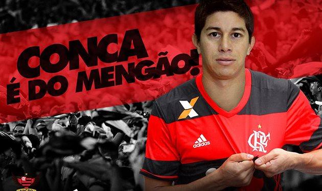 Дарио Конка, twitter.com/Flamengo