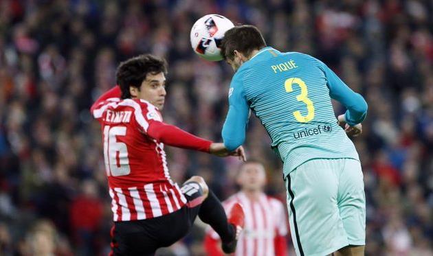 Барселона атлетик бильбао 11 января 2017