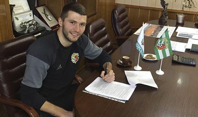 Александр Ткаченко, vorskla.com.ua