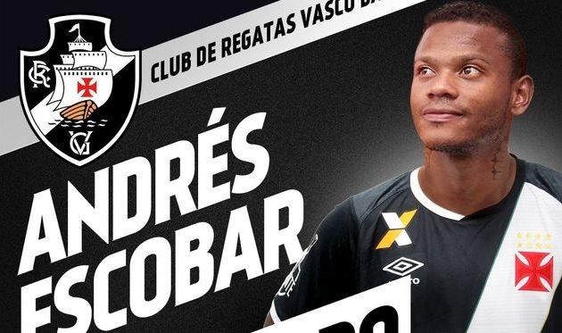Андрес Эскобар, vasco.com.br
