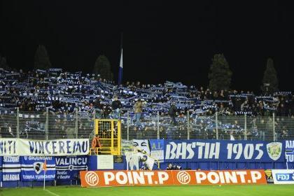 Фан-сектор Бастии, liga1.com