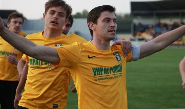 Грицук забил пенальти, ua-football.com