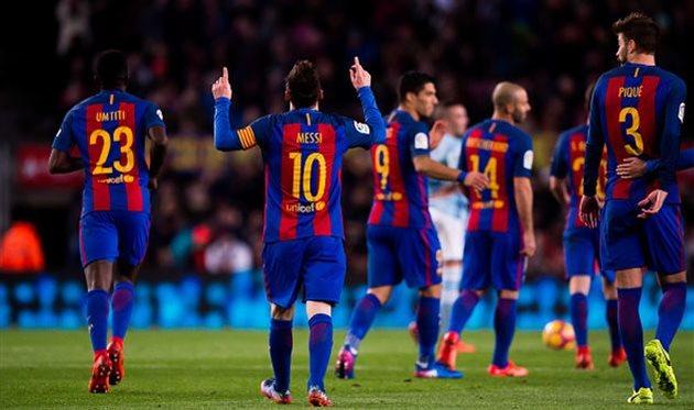 Месси принял участие в 42% голов Барселоны