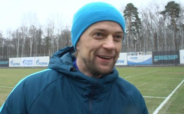 Тимощук рад находиться в Зените, кадр из видео
