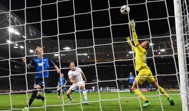 Бавария потеряла очки с Хоффенхаймом, Getty Images