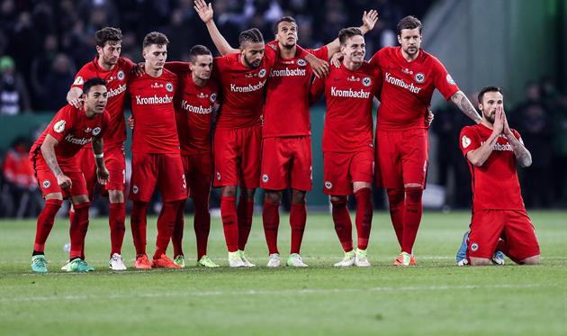 Футбол сегодня германия айнтрахт