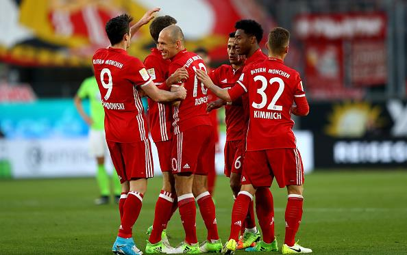 Бавария вновь чемпион, Getty Images
