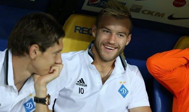 Андрей Ярмоленко и Денис Гармаш - два представителя Динамо в сборной месяца от Football.ua