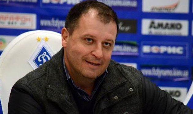 Юрий Вернидуб, фото ФК Динамо