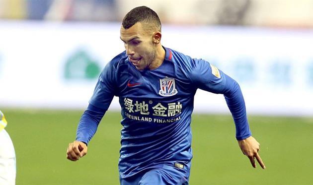 Тевес не излучает энтузиазм от игры в Китае, Xinhua
