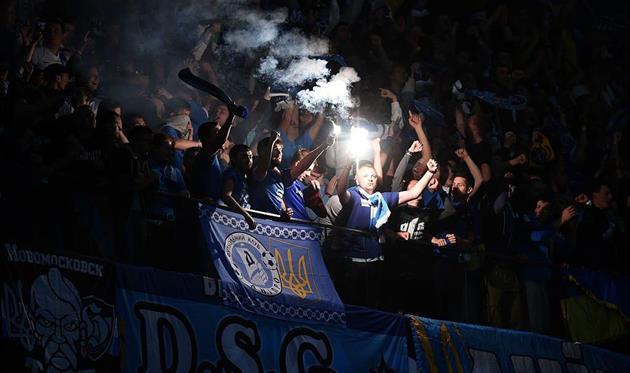 Поклонникам Днепра придется поддерживать свою команду во Второй лиге, Getty Images