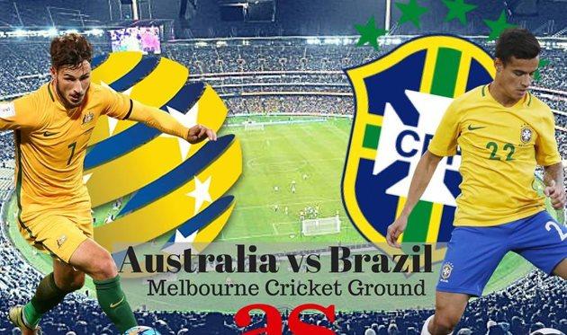 Австралия — Бразилия 0:4 Видео голов и обзор матча