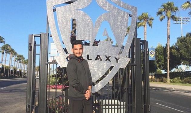 Гюндоган проводит тренировки с Гэлакси, instagram.com
