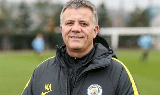 Марк Аллен, фото официального сайта Манчестер Сити