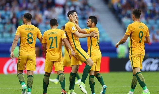 Австралийцы в первом матче заставили изрядно понервничать чемпионов мира - Германию, Getty Images