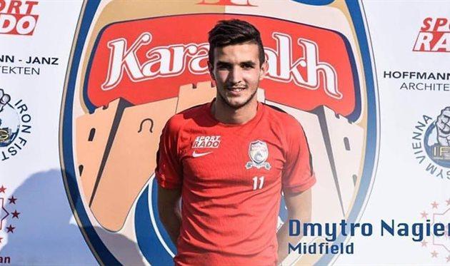Нагиев - игрок австрийского Карабаха, facebook.com/karabakh.vienna