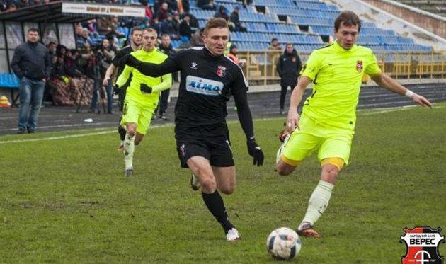 Михаил Сергийчук (в центре), фото фк Верес