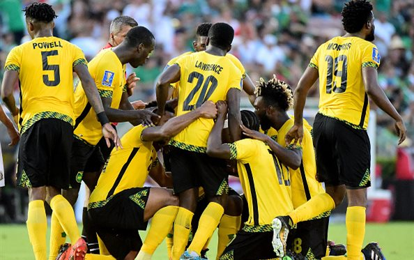 Радость игроков Ямайки, Getty Images