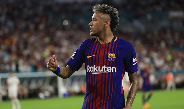 Барселона заплатила за неймара