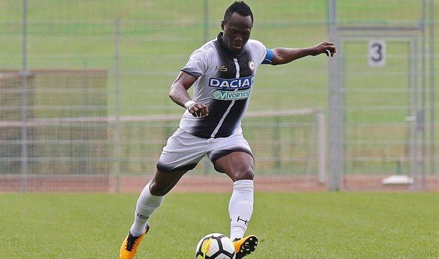 Эммануэль Баду, twitter.com/Udinese_1896