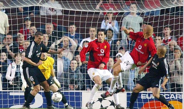 Смотреть футбол реал мадрид манчестер юнайтед 2002 2003