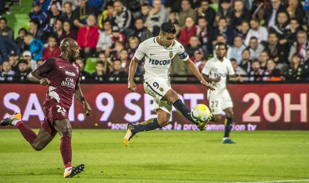 Радамель Фалькао забил победный гол, asmonaco.com
