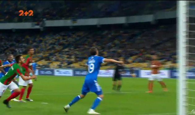 Гармаш открыл счет в матче Динамо — Маритиму