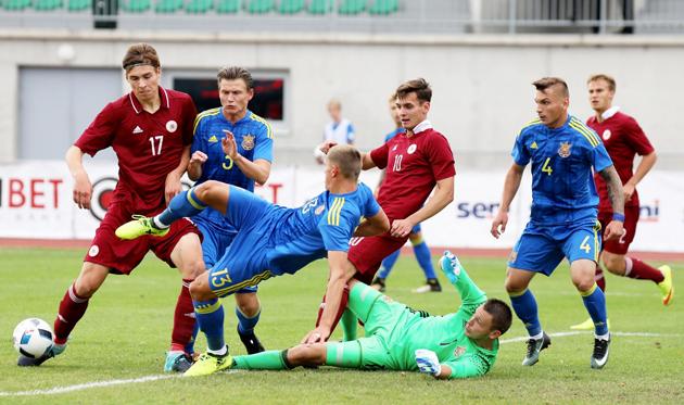 Украина U-21 сыграла вничью с Латвией, ffu.ua