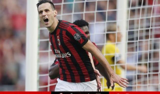 Калинич открыл счет своим голам за Милан
