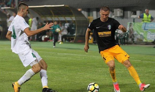 Цуриков (справа) возвращается после травмы, fco.com.ua