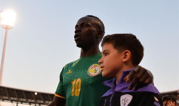 Мане в сборной Сенегала, getty images