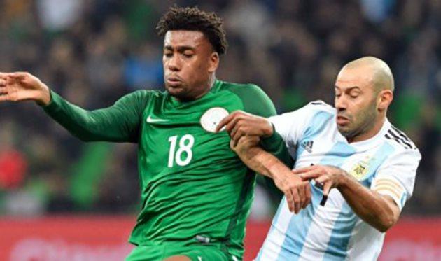 Аргентина - Нигерия, twitter.com/thenff