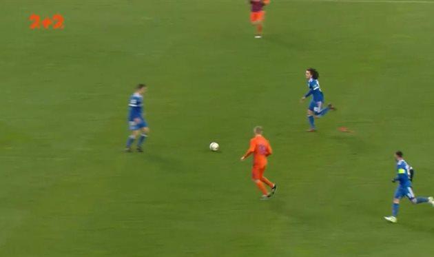 Динамо - Мариуполь, фото: Скриншот