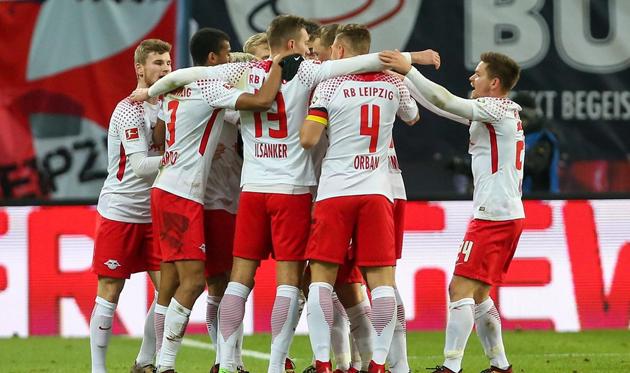Лейпциг упустил победу в конце матча, twitter.com/rbleipzig_en