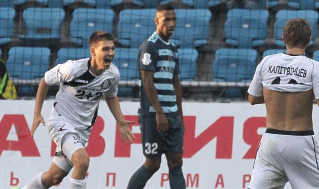Владимир Барилко (слева) завершил карьеру, фото ФК Черноморец
