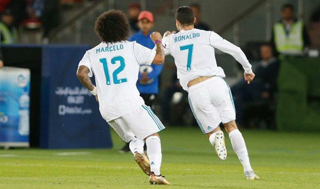 Марсело и Роналду, фото: twitter.com/realmadriden