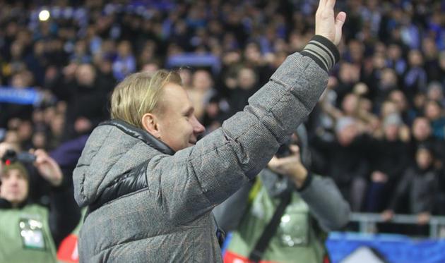Домагой Вида уже успел попрощаться с киевскими болельщиками, фото ФК Динамо