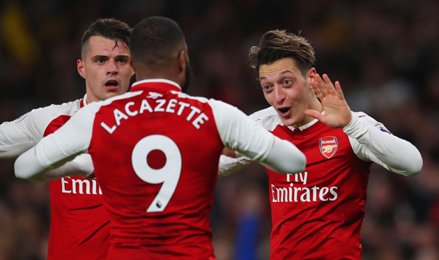 Гол Месута Озила чуть было не принес победу Арсеналу, Getty Images