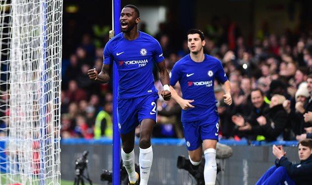 Челси - Сток, фото: twitter.com/ChelseaFC