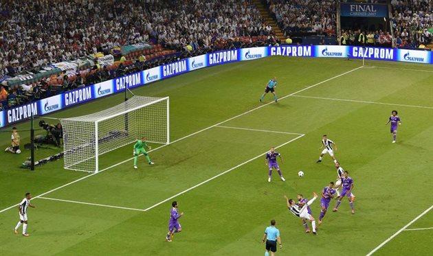 Гол Марио Манджукича в финале Лиги чемпионов, Getty Images