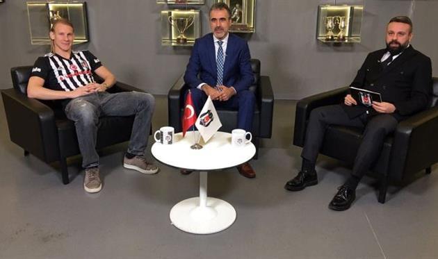 Домагой Вида (слева), ФК Бешикташ