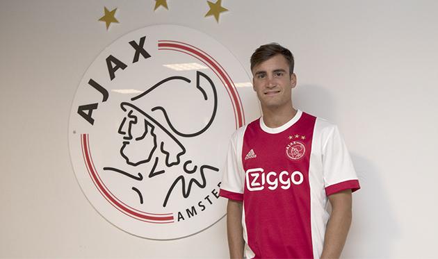 Николас Тальяфико, ajax.nl