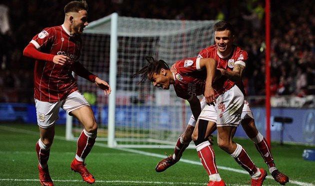 В четвертьфинале Бристоль Сити выбил Манчестер Юнайтед, Getty Images