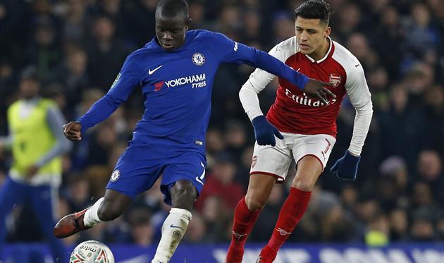 Канте и Санчес, фото: twitter.com/ChelseaFC