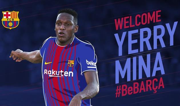 Официально: Мина — игрок Барселоны