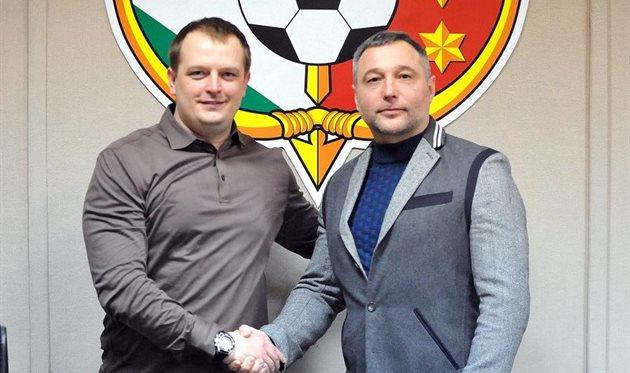 Александр Фундерат (справа), фото ФК Ворскла