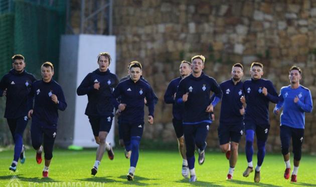 Первая тренировка Динамо в 2018 году, фото ФК Динамо